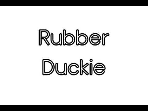 Rubber Duckie (Instrumental Track) - Melinda Meginness