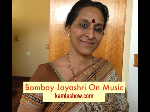 Bombay Jayashri on Music