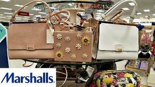 MARSHALLS SHOP WITH ME HANDBAGS PURSE SHOPPING VINCE CAMUTO KATE SPADE WALK THROUGH JULY 2018