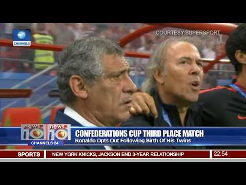 News@10: Germany To Meet Chile In CAF Confederation Cup Final 29/06/17 Pt.4