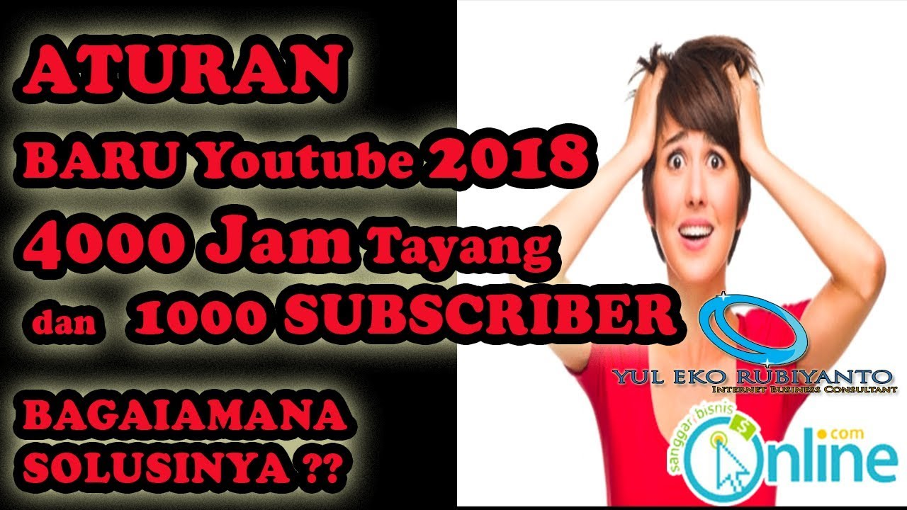 Aturan Monetize youtube 2018