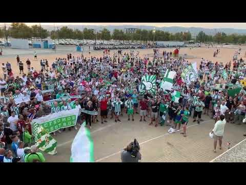 La afición del Córdoba CF, apoya a su equipo