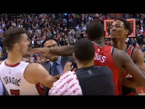 DeMar DeRozan SWINGS on Goran Dragic After Losing to the Heat