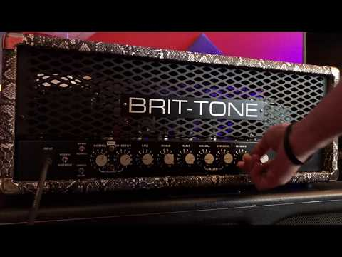 Brit-Tone SLO Plus 100W - With Linear Gain Mod