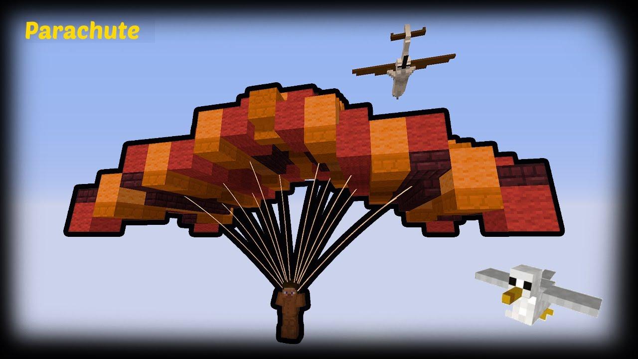 Big Dig Minecraft Parachute