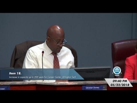 Arlington County Board Meeting - May 22, 2018