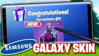 Fortnite Mobile ANDROID GALAXY SKIN Bundle RELEASE