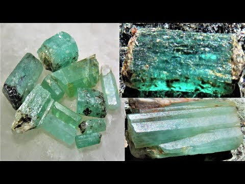 Aquamarine, Beryl & Emerald everywhere | Liz Kreate