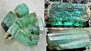 Aquamarine, Beryl & Emerald everywhere
