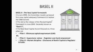 BASEL Accords - II & Pillars of Basel II Accords - 06