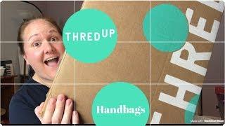 THREDUP HANDBAG REJECT RESCUE BOX   10 Purses for $90