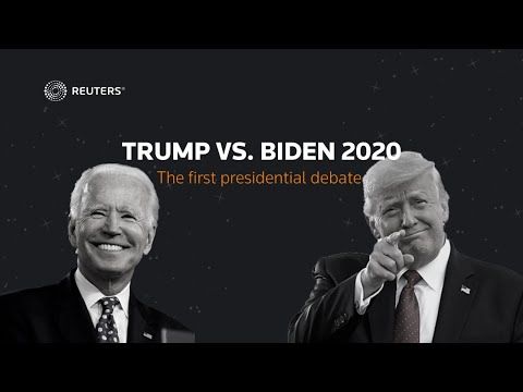 LIVE: Biden and Trump face off in the first presidential debate