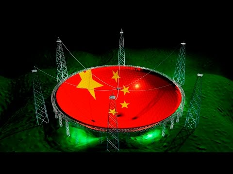 ¿Para qué Quiere China Este Súper-Radiotelescopio?