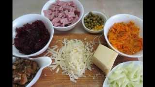 видео Рецепт с фото: Суп с тыквой и ветчиной