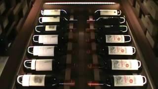 Large Amber Blaze Mahogany Wine Cellar - Over 2,000 Wine Bottles