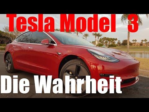 Ist das Tesla Model 3 wirklich so schlecht ? Schonungslose Wahrheit über das angebliche Wunderauto