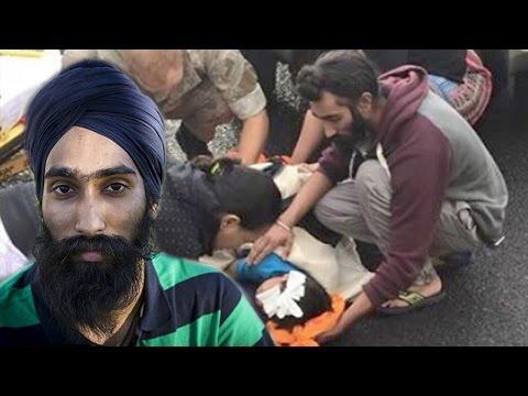 Sikh Man Removes Turban To Save Boy's Life – Amazing Story
