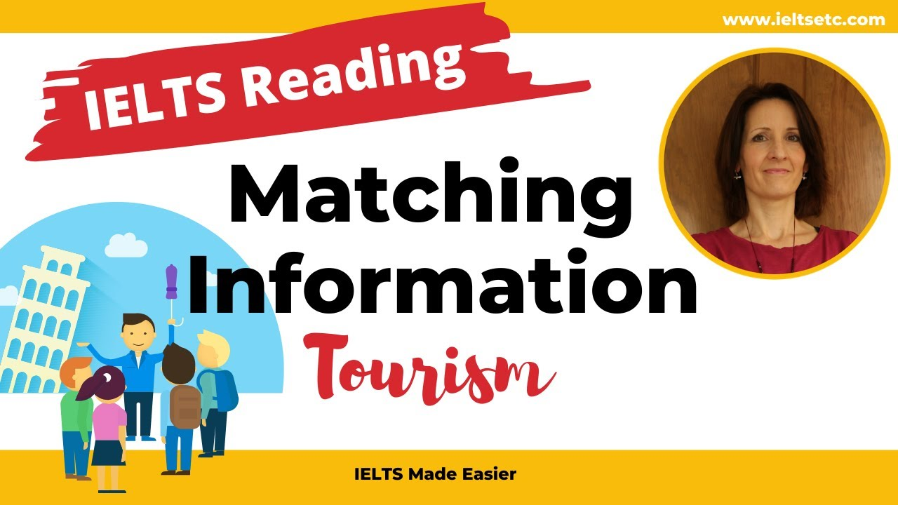 IELTS Reading: Matching Headings - Tourism - IELTS with Fiona