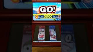 Rylus (Villager) vs RobbyBobby (Bayonetta) Round 4 - SSB4 3DS 1v1 For Glory