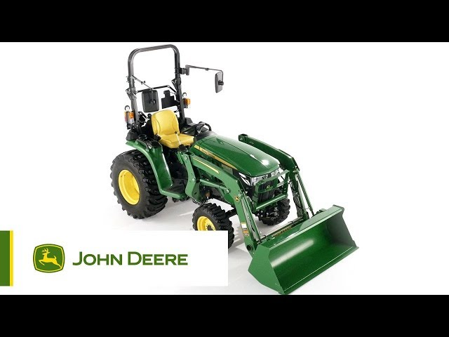 The John Deere 3038E Compact Utility Tractor