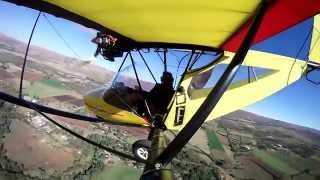 Microlighting Magaliesburg in a Bantam