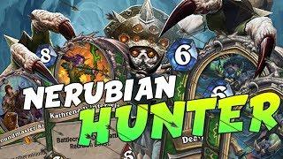Ecco il NERUBIAN HUNTER, un deck competitivo post NERF! | Hearthstone