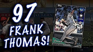 97 FRANK THOMAS & 99 BABE RUTH STATS SHOWN!! MLB THE SHOW 18
