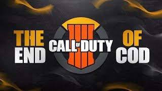 This is THE END of Call of Duty as we know it...