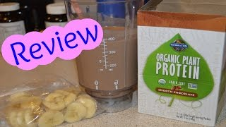 Garden of Life Organic Plant Protein Review + Giveaway (closed)