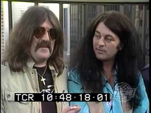 The Deep Purple 1984 Perfect Strangers reunion as seen on Canadian TV
