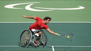 Daniel Caverzaschi y el tenis en silla de ruedas