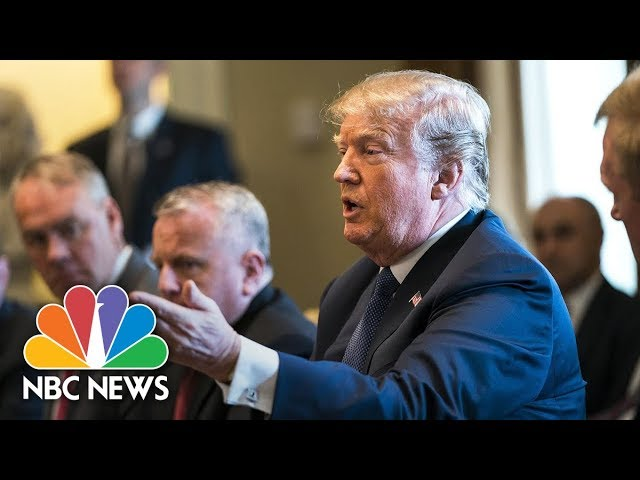 President Donald Trump Says He'll Meet With North Korea In May Or Early June   NBC News