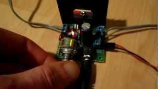 TDA7297, Audio Amplifier Board  TDA7297, 2 x 15 Watt, Dual-Channel, DIY, DC (or AC) 6-18 Volt,