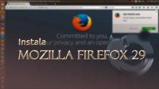 Instala Firefox 31 en Ubuntu 14.04 LTS