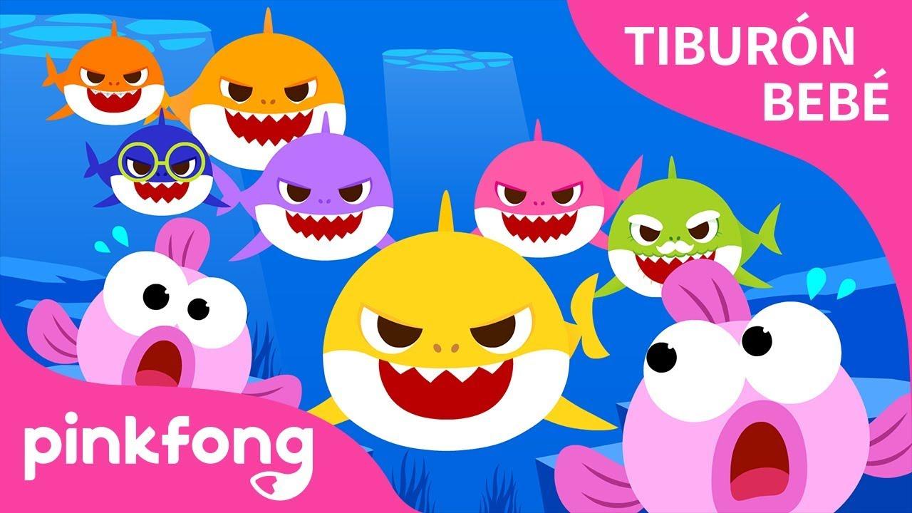 Tiburón Bebé Más y Más   Tiburón Bebé   Animales   Pinkfong Canciones Infantiles