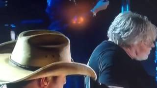 Jason Aldean CMT with Bob Seger Against The Wind