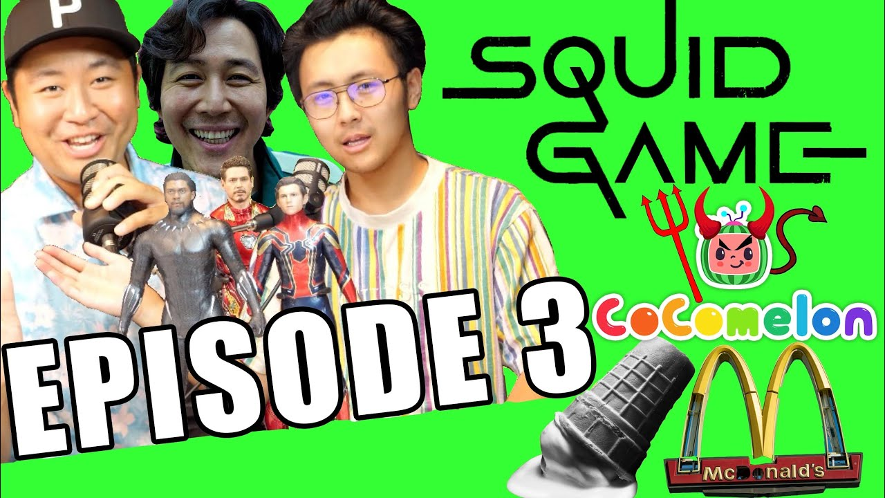 Craziest SQUID GAME Theories, Dangers of COCOMELON,MCDONALDS Scam!JUST THE NOBODYS PODCAST EPISODE#3