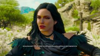 The Witcher 3: Blood and Wine Yennifer Happy Ending