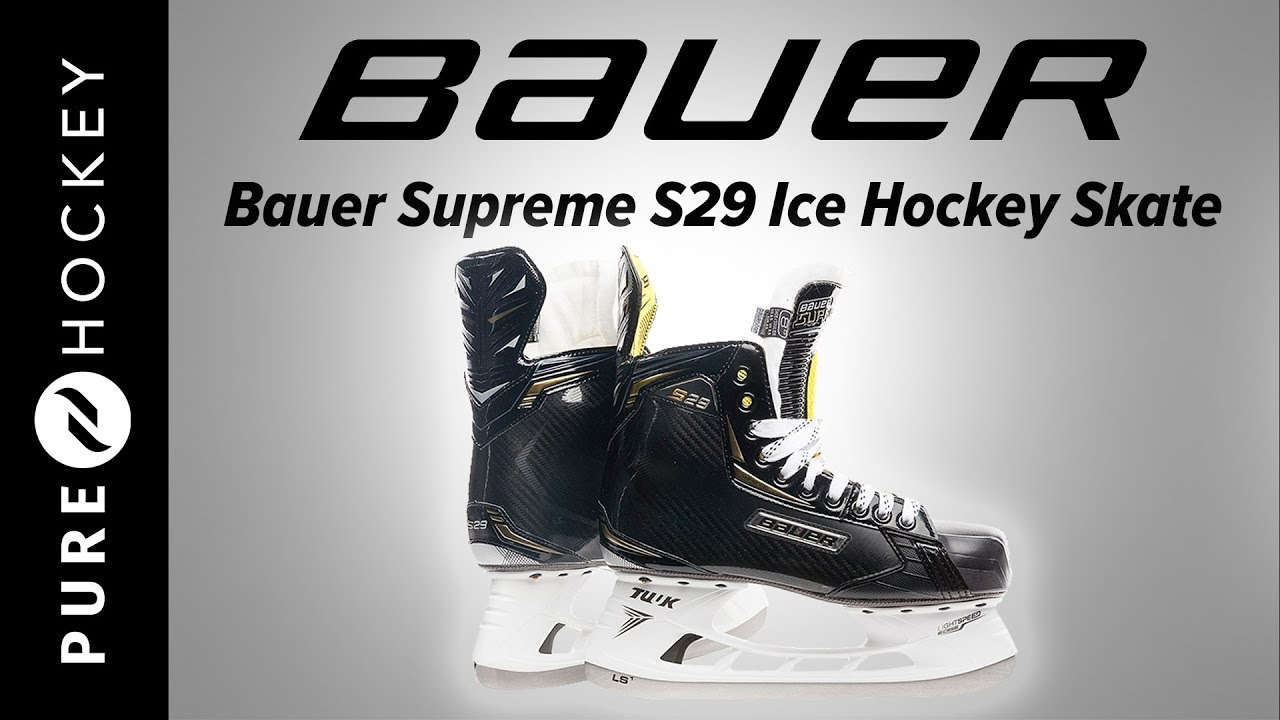 Bauer Supreme S29 Ice Hockey Skate | Product Review - YouTube