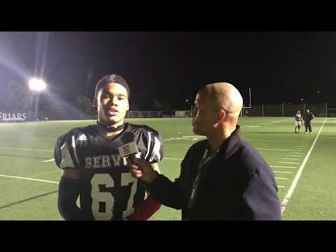 Julius Irvin WR/DB Servite HS (Part 2) LIVE HIGH SCHOOL FOOTBALL BROADCAST & LIVE STREAM