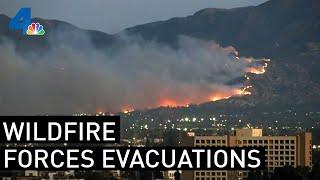 Watch Live: Saddleridge Fire Burns North of LA