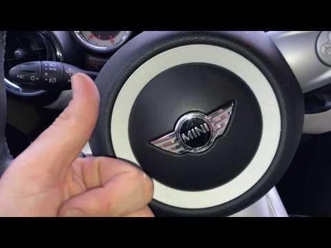 How to start a Mini Cooper BMW Mini starting DIY