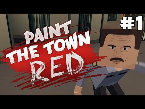 Paint the Town Red Прохождение ► ДРАКА В БАРЕ ► #1