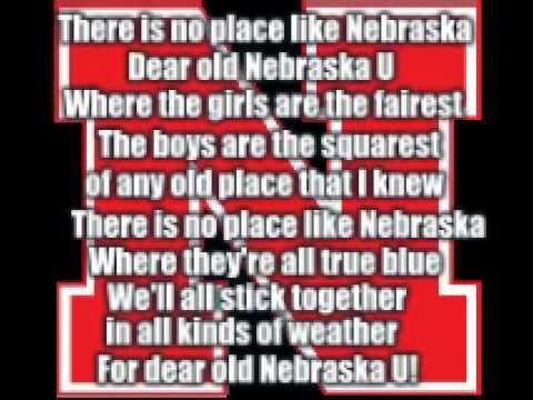 Nebraska Fight song- There is no place like Nebraska.flv