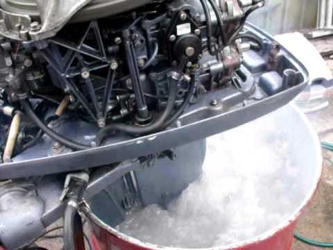 Evinrude  Johnson 40 hp plenty of water  YouTube