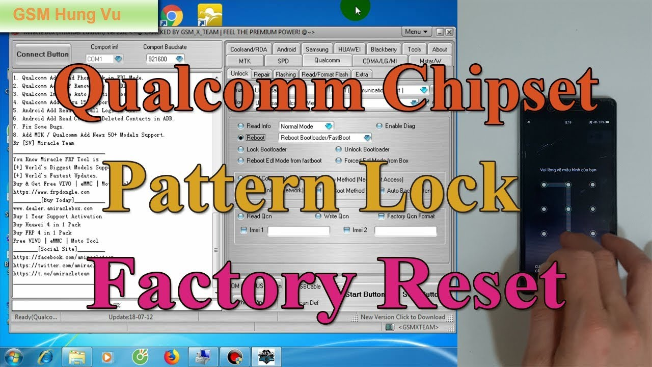 Factory Reset Oppo/Vivo Qualcomm Chip Pattern Lock by Miracle Thunder 2 82
