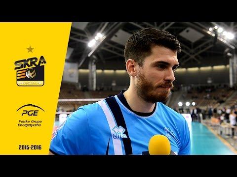 Matthew Anderson post-match interview after PGE Skra - Zenit Kazań 0-3
