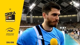 matthew anderson post match interview after pge skra zenit kazań 0 3