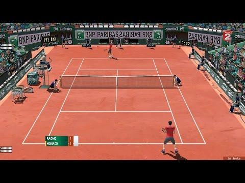 Tennis Elbow 2013: Ép.16 Raonic vs Juan Monaco R3 Roland Garros!