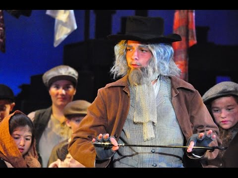 Kyle as Fagin in Oliver-Reviewing the Situation